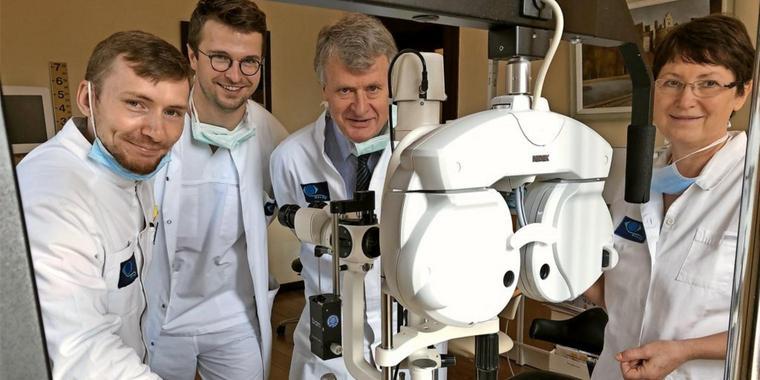 Augenarztpraxis Muldenblick in der Villa doc Grimma