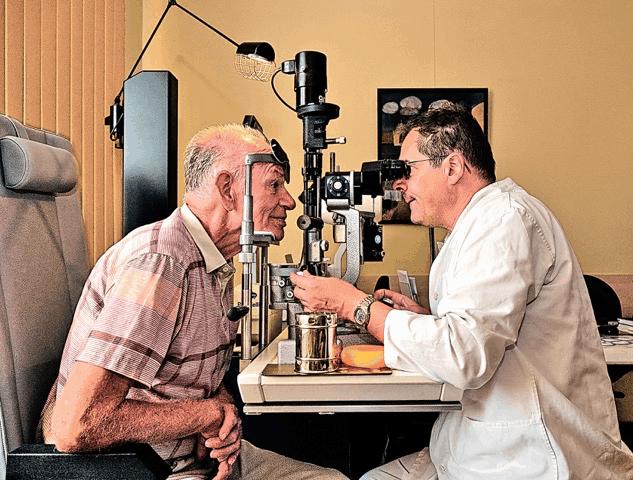 Augenarztpraxis Muldenblick in der Villa doc in Grimma